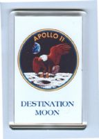 NASA Apollo 11 'Destination Moon' fridge magnet